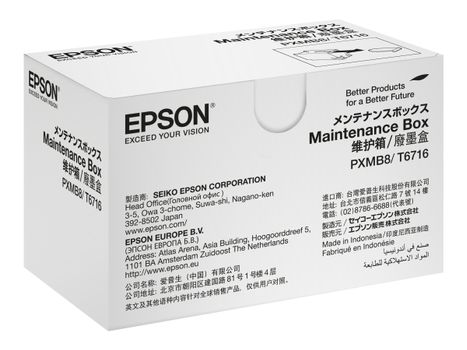 Epson Blekkvedlikeholdsboks - for WorkForce Pro WF-C5210, C529, C5290, C5710, C579, C5790, M5298, M5299, M5799