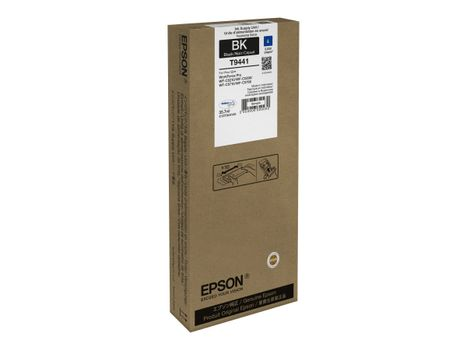 Epson T9441 - 35.7 ml - svart - original - blekkpatron - for WorkForce Pro WF-C5210DW,  WF-C5290DW,  WF-C5710DWF,  WF-C5710DWF Power PDF, WF-C5790DWF (C13T944140)