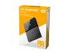 WD My Passport for Mac WDBP6A0040BBK - harddisk - 4 TB - USB 3.0 (WDBP6A0040BBK-WESE)