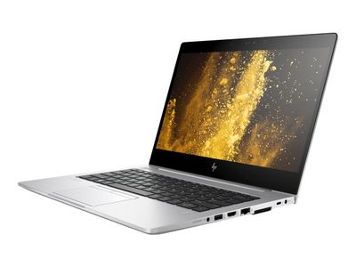 "HP EliteBook 830 G5 - Core i7 8550U / 1.8 GHz - Win 10 Pro 64-bit - 8 GB RAM - 512 GB SSD NVMe, TLC - 13.3"" IPS 1920 x 1080 (Full HD) - UHD Graphics 620 - Wi-Fi, Bluetooth - kbd: QWERTY Norwegian (5SS12EA#ABN)"