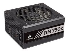 Corsair RMx Series RM750x - 2018 Edition - strømforsyning (intern) - ATX12V 2.4/ EPS12V 2.92 - 80 PLUS Gold - AC 100-240 V - 750 watt - Europa