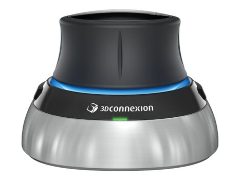 3DCONNEXION SpaceMouse Wireless - 3D-mus - USB, 2.4 GHz (3DX-700066)