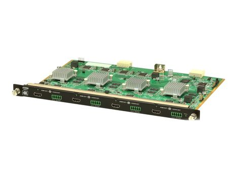 ATEN VM8814 4-Port 4K HDMI Output Board with Scaler - utvidelsesmodul - HDMI x 4 (VM8814-AT)