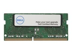 DELL DDR4 - 16 GB - SO DIMM 260-pin - 2666 MHz / PC4-21300 - 1.2 V - ikke-bufret - ikke-ECC - Oppgradering - for Inspiron 3195 2-in-1, 3493, 3785, 5481 2-in-1; OptiPlex 5260, 7460, 7760; XPS 15 7590