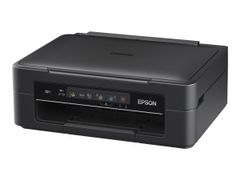 Epson Expression Home XP-255 - Multifunksjonsskriver - farge - ink-jet - A4/Legal (medie) - opp til 27 spm (trykking) - 50 ark - USB, Wi-Fi - svart