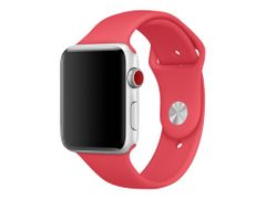 Apple 42mm Sport Band - Klokkestropp - 140-210 mm - bringebærrød - for Watch (42 mm)