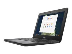 DELL Chromebook 5190 Education - Celeron N3350 / 1.1 GHz - Chrome OS - 4 GB RAM - 32 GB eMMC - 11.6