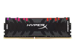 Kingston HyperX Predator RGB - DDR4 - 16 GB: 2 x 8 GB - DIMM 288-pin - 3000 MHz / PC4-24000 - CL15 - 1.35 V - ikke-bufret - ikke-ECC - svart