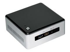 Intel Next Unit of Computing Kit NUC5i3RYH - Barebone - mini-PC - 1 x Core i3 5005U / 2 GHz - HD Graphics 5500 - GigE - WLAN: Bluetooth 4.0 LE, 802.11b/g/n/ac