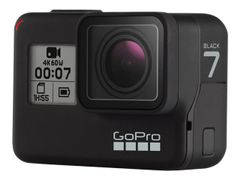 GoPro HERO7 Black - Actionkamera - monterbar - 4K / 60 fps - 12.0 MP - under vannet inntil 10 m