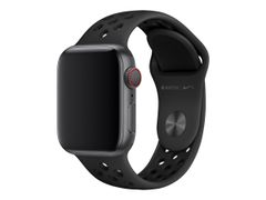 Apple 40mm Nike Sport Band - Klokkestropp - 130-200 mm - antrasitt/svart - for Watch (38 mm, 40 mm)