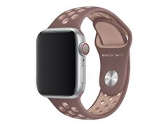 Apple 40mm Nike Sport Band - Klokkestropp - 130-200 mm - røykaktig lyslilla / partikkelbeige - for Watch