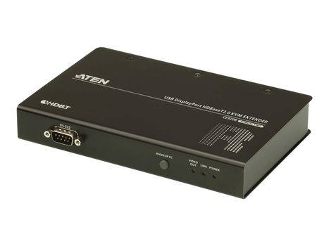 ATEN CE920 Local Unit and Remote Unit - KVM / lyd / seriell / USB / nettverksutvider - HDBaseT 2.0 (CE920-AT-G)