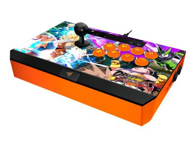 Razer Panthera DRAGON BALL FIGHTERZ EDITION - Spillehallspinne - 10 knapper - kablet - for Sony PlayStation 4 (RZ06-01690400-R3G1)