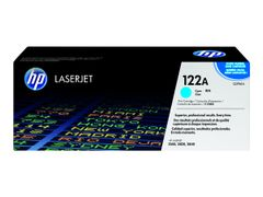HP 122A - Cyan - original - LaserJet - tonerpatron (Q3961A) - for Color LaserJet 2550L, 2550Ln, 2550n, 2820, 2830, 2840