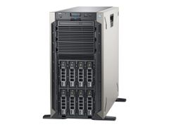 DELL EMC PowerEdge T340 - Server - tower - 5U - 1-veis - 1 x Xeon E-2124 / 3.3 GHz - RAM 8 GB - SAS - hot-swap 3.5