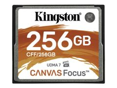Kingston Canvas Focus - Flashminnekort - 256 GB - CompactFlash