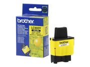 Brother LC900Y - gul - original - blekkpatron (LC900Y)