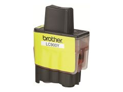Brother LC900Y - Gul - original - blekkpatron - for Brother DCP-115, 117, 120, 315, 340, MFC-210, 215, 3240, 3340, 410, 425, 5440, 640, 820