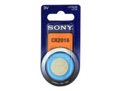 Sony CR-2016 - Batteri CR2016 - Li - 85 mAh