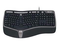 Microsoft Natural Ergonomic Keyboard 4000 - Tastatur - USB - Nordisk