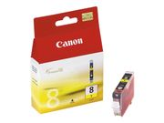 Canon CLI-8Y - 13 ml - gul - original - blekkbeholder - for PIXMA iP3500, iP4500, iP5300, MP510, MP520, MP610, MP960, MP970, MX700, MX850, Pro9000 (0623B001)