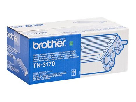 Brother TN3170 - svart - original - tonerpatron