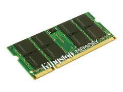 Kingston DDR2 - 1 GB - SO DIMM 200-pin - 667 MHz / PC2-5300 - CL5 - 1.8 V - ikke-bufret - ikke-ECC - for HP Pavilion dv6113; Pavilion Media Center dv2125, dv9089, s7620, s7621, s7630, s7640