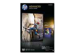 HP Advanced Glossy Photo Paper - Blank - 10,5 mille - 100 x 150 mm - 250 g/m² - 60 ark fotopapir - for Deskjet Ink Advantage 52XX; Envy 50XX; Ink Tank 319; Ink Tank Wireless 410; Officejet 52XX