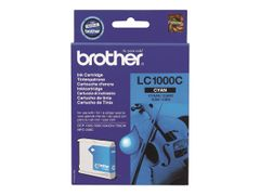 Brother LC1000C - Cyan - original - blekkpatron - for Brother DCP-350, 353, 357, 560, 750, 770, MFC-3360, 465, 5460, 5860, 660, 680, 845, 885