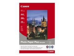 Canon Photo Paper Plus SG-201 - Halvblank sateng - 101.6 x 152.4 mm - 260 g/m² - 50 ark fotopapir - for PIXMA iP3680, iP4820, iP4850, MG8250, MP198, MP228, MP245, MP252, MP258, MP476; S450