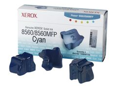XEROX Phaser 8560MFP - 3-pack - cyan - faste blekktyper - for Phaser 8560