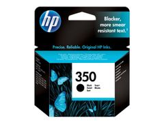 HP 350 - 4.5 ml - svart - original - blekkpatron - for Officejet J6415; Photosmart C4382, C4384, C4450, C4470, C4472, C4524, C4585, C5225, C5288