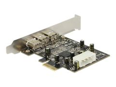 DELOCK PCI Express card FireWire A / B - Videofangstadapter - PCIe