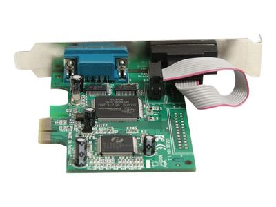 StarTech 2 Port PCI Express RS232 Serial Adapter Card with 16550 UART - Seriell adapter - PCIe - RS-232 x 2 (PEX2S950)