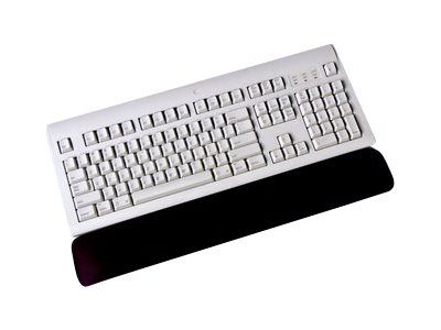 3M Gel Wrist Rest for Keyboard WR310MB - Håndleddsstøtte for tastatur - svart (70-0710-8105-6)