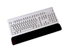 3M Gel Wrist Rest for Keyboard WR310MB - Håndleddsstøtte for tastatur - svart