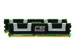 Kingston Low Power Kit - DDR2 - 8 GB: 2 x 4 GB - FB-DIMM 240-pin - Fullt bufret