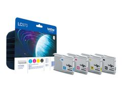 Brother LC970 Value Pack - 4-pack - svart, gul, cyan, magenta - original - blekkpatron - for Brother DCP-135C, DCP-150C, DCP-153C, MFC-235C, MFC-260C