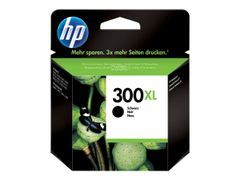 HP 300XL - 12 ml - Høy ytelse - svart - original - blekkpatron - for Deskjet F2430, F2483, F2488, F4213, F4435; Envy 100 D410, 11X D411, 120; Photosmart C4685