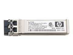 Hewlett Packard Enterprise HPE - SFP (mini-GBIC) transceivermodul - 4 Gb-fiberkanal (LW)