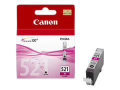 Canon CLI-521M - 9 ml - magenta - original - blekkbeholder - for PIXMA iP3600, iP4700, MP540, MP550, MP560, MP620, MP630, MP640, MP980, MP990, MX860, MX870