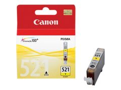 Canon CLI-521Y - 9 ml - gul - original - blekkbeholder - for PIXMA iP3600, iP4700, MP540, MP550, MP560, MP620, MP630, MP640, MP980, MP990, MX860, MX870