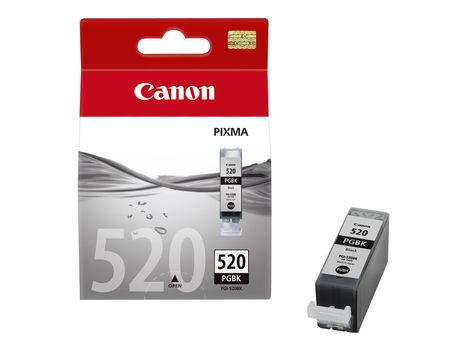 Canon PGI-520BK - 19 ml - svart - original - blekkbeholder - for PIXMA iP3600, iP4700, MP540, MP550, MP560, MP620, MP630, MP640, MP980, MP990, MX860, MX870