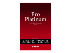 Canon Photo Paper Pro Platinum - fotopapir - 10 ark - A3 Plus - 300 g/m²