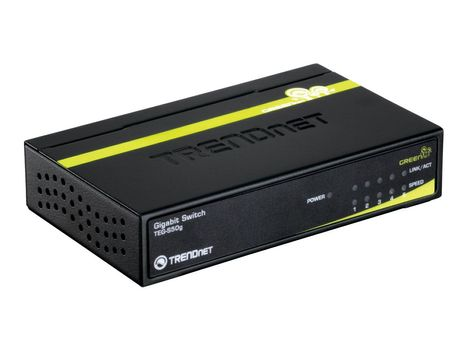 TRENDnet TEG S50G - switch - 5 porter