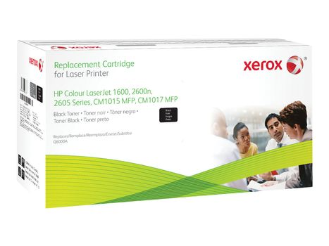 XEROX svart - tonerpatron (alternativ for: HP Q6000A) (003R99768)