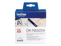 Brother DKN55224 - Papir - svart på hvitt - Rull (5,4 cm x 30,5 m) 1 rull(er) tape - for Brother QL-1050, QL-1060, QL-500, QL-550, QL-560, QL-570, QL-580, QL-650, QL-700, QL-720
