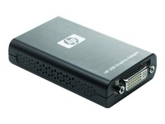 HP Ekstern videoadapter - USB - DVI - for EliteDesk 705 G4; EliteOne 800 G3; ProDesk 400 G4, 600 G3; ProOne 400 G3, 440 G3, 600 G3