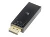 Deltaco Video adapter - DisplayPort / HDMI - DisplayPort (hann) til HDMI (hunn) (DP-HDMI)
